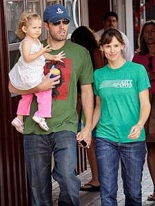 Jennifer Garner y Ben Afleck esperan su tercer hijo