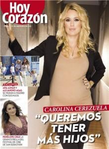 Carolina Cerezuela quiere tener más hijos