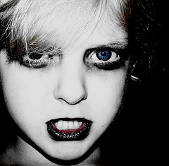 Baby Goth Zombie Girl free creative commons
