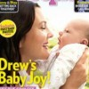 Drew Barrymore presenta a su hija Olive en People