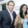 Antonio David Flores y su mujer Olga, padres de una niña