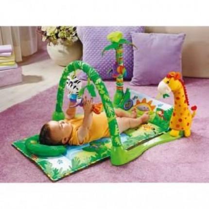 Estimula a tu hijo con un gimnasio para bebés