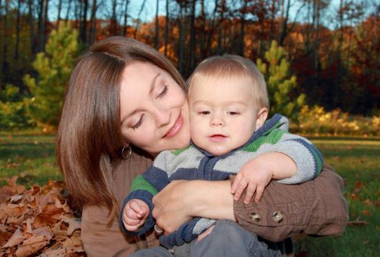 madre y bebe