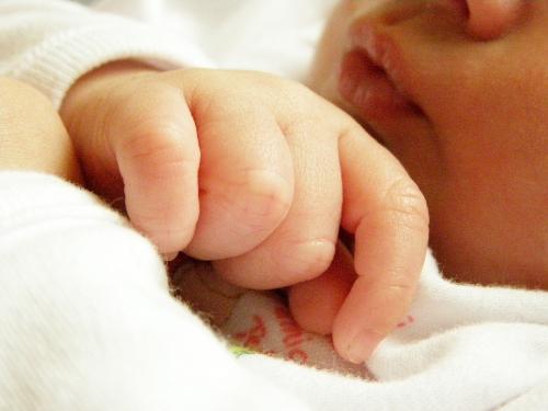 deditos de bebe