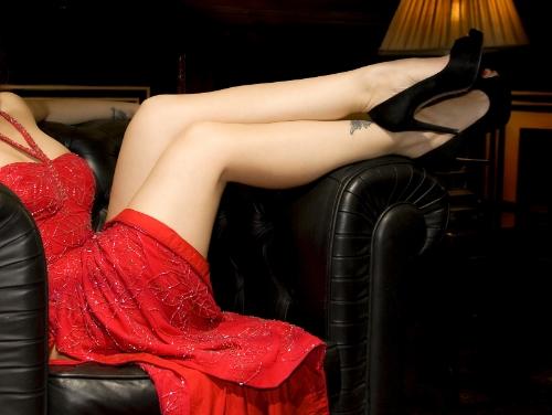 Woman sexy legs